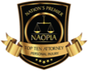 NAOPIA Top Ten Attorney Personal Injury
